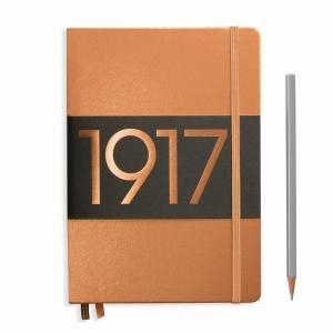 Leuchtturm A5 Medium Copper Ruled Hardcover Notebook Metallic Edition