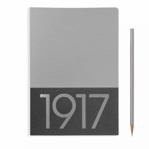 Leuchtturm A5 Jottbook Medium Silver Plain 2pack Metallic Edition Softcover