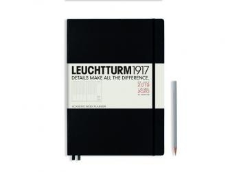 Leuchtturm academic week planner A4 master black 18 maanden 2019-2020