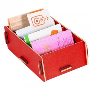 Business Card Box 27 Dark Red