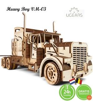 Ugears Heavy Boy Truck VM-03