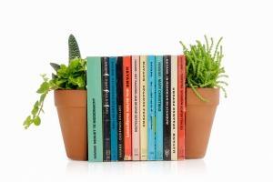 Plant Pot Bookends Plantenpot en boekensteun Suck UK