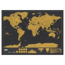 Scratch Map De Luxe