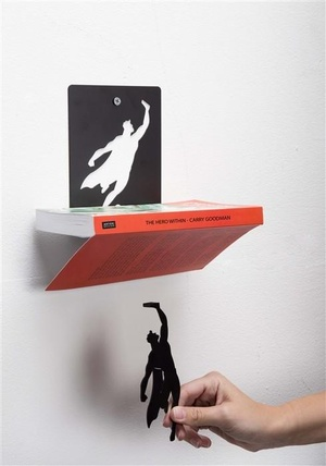 Book & Hero Artori Design Boekensteun AD101