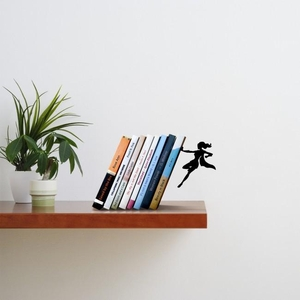 Supergal Bookend Artori Design Boekensteun Zwart AD103