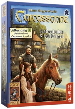 Carcassonne uitbreiding 1 - Kathedralen en herbergen