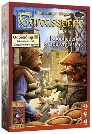 Carcassonne Kooplieden & bouwmeesters