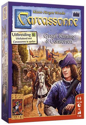 Carcassonne Graaf, koning en consorten