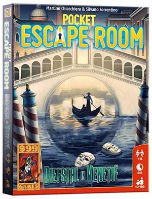 Pocket Escape Room - Diefstal in Venetie