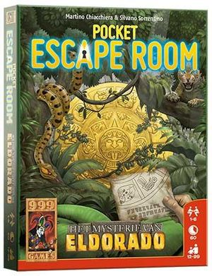 Pocket Escape Room - Het mysterie van Eldorado