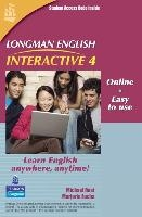 Longman English Interactive 4, Online Version, American English (access Code Card)