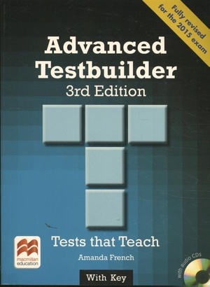 Advanced Testbuilder 3rd edition Student's Book with key Pac