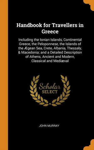 Handbook For Travellers In Greece