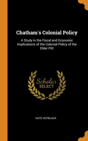 Chatham's Colonial Policy