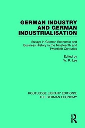 German Industry And German Industrialisation