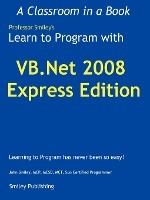Learn To Program With Vb.net 2008 Express