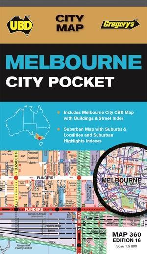 Melbourne City Pocket  1 : 120 000 - 1 : 5 000
