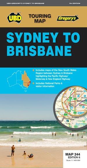 Sydney to Brisbane 1 : 1 300 000