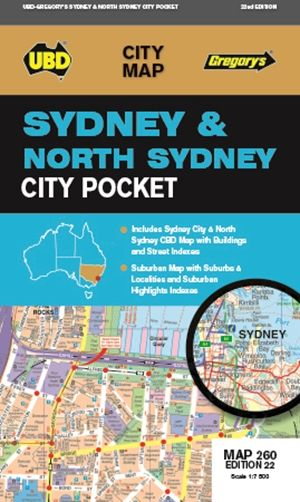 Sydney North Sydney Pocket  1 : 110 000 - 1 : 7 500