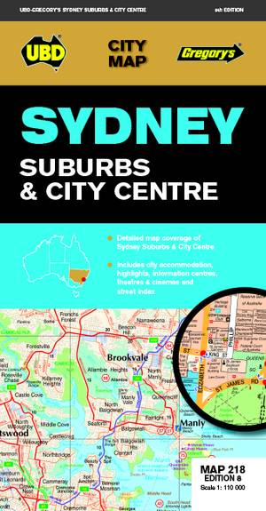 Sydney Suburbs & City Centre 1 : 5 000