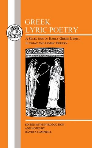 Greek Lyric Poetry