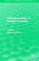 : Homosexuality: A Research Guide (1987)