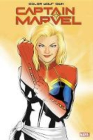 Color Your Own Captain Marvel