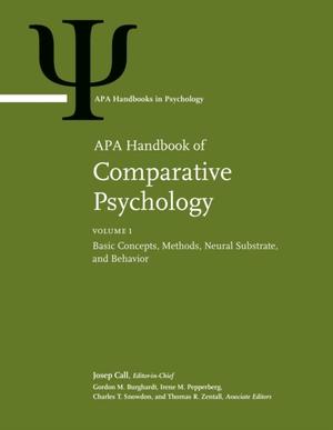 Apa Handbook Of Comparative Psychology