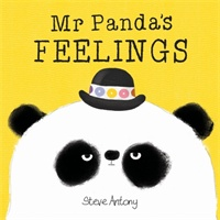 Mr Panda's Feelings Board Book