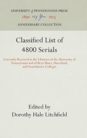 Classified List Of 4800 Serials