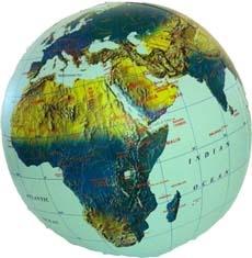 ITMB Globe 30 phys. inflatable itm opblaasglobe