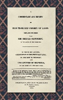 Commentary And Review Of Montesquieu's Spirit Of Laws, Prepared For Press From The Original Manuscript In The Hands Of The Publisher (1811)