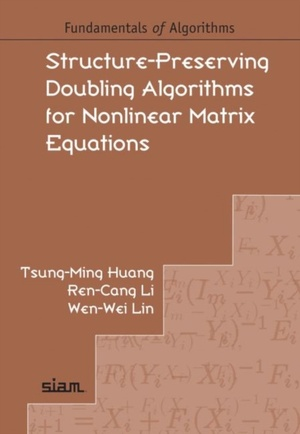 Structure-preserving Doubling Algorithms For Nonlinear Matrix Equations