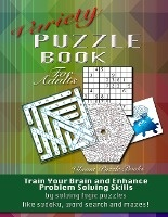Variety Puzzle Book For Adults