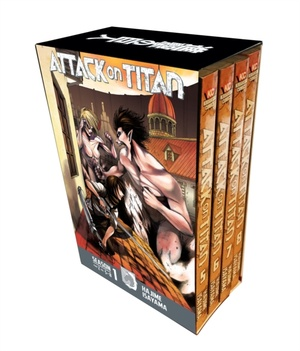 Attack On Titan Season 1 Part 2 Manga Box Set