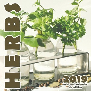 Herb 2019 Mini Wall Calendar (uk Edition)