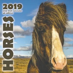 Horses 2019 Mini Wall Calendar (uk Edition)