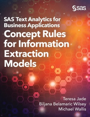 Sas Text Analytics For Business Applications