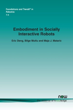 Embodiment In Socially Interactive Robots