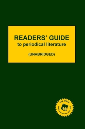 Readers' Guide To Periodical Literature, 2019 Subscription