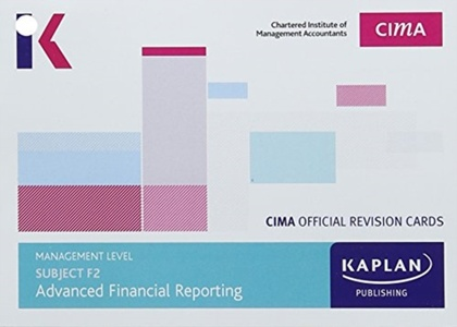 F2 Advanced Financial Reporting - Revision Cards