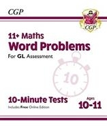 New 11+ Gl 10-minute Tests: Maths Word Problems - Ages 10-11 (with Online Edition)