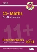 New 11+ Gl Maths Practice Papers: Ages 10-11 - Pack 1 (with Parents' Guide & Online Edition)