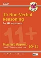 New 11+ Gl Non-verbal Reasoning Practice Papers: Ages 10-11 Pack 1 (inc Parents' Guide & Online Ed)