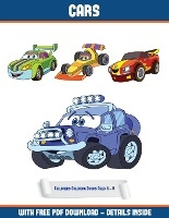 Childrens Coloring Books Ages 4 - 8 (cars)