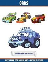 Childrens Coloring Books By Age 6 - 8 (cars)