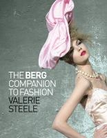 Berg Companion To Fashion