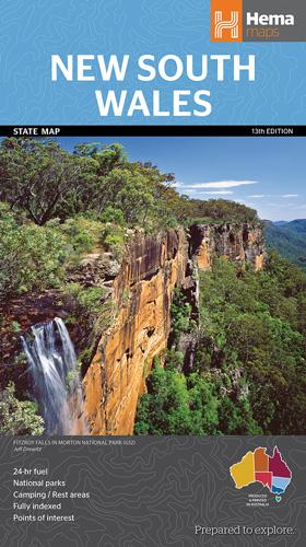 New South Wales State Map 1 : 1 500 000
