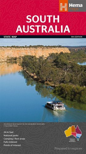 South Australia State National Park  1 : 1.800.000