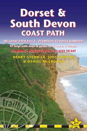 Dorset & South Devon Coast Path (trailblazer British Walking Guide)